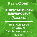 Kiertotalouden Kasvupolku Finaali 16.8.