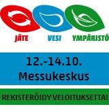 Jäte Vesi Ympäristö 12.-14.10.2016 Messukeskus