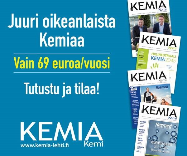 Tilaa Kemia-lehti