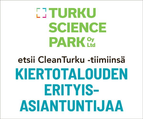 Turku Science Par etsii kiertotalouden erityisasiantuntijaa