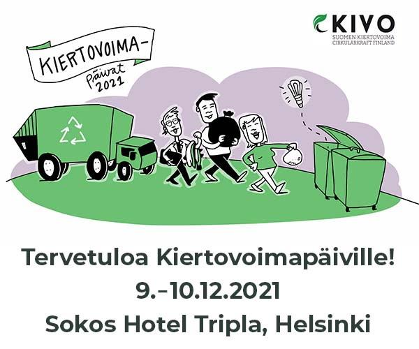 Kiertovoimapäivät 9.-10.12.21