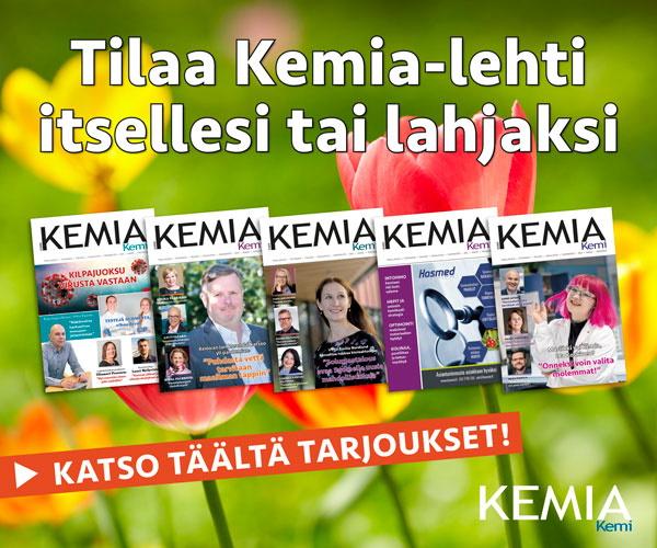 Tilaa Kemia-lehti!