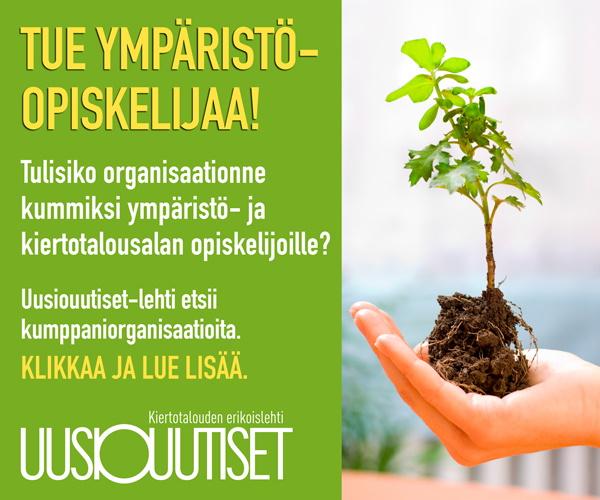 Tue ympäristöopiskelijaa