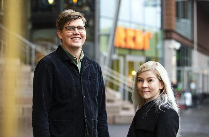 Niko Olsson ja Heidi Pirtonen
