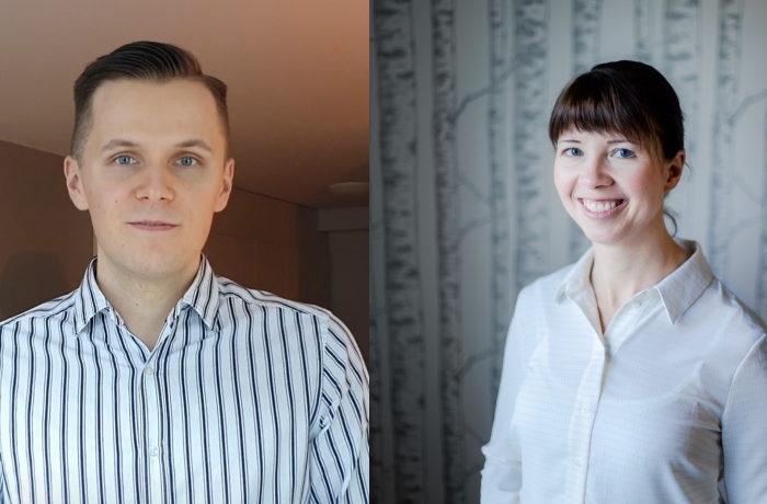 Antti Nokelainen ja Johanna Alakerttula