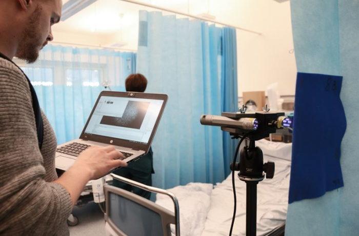Uusia sairaalaverhoja Jyväskylän sairaala Novassa
