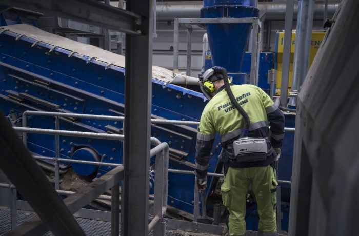 Oulun Energian Ruskon lajittelulaitos