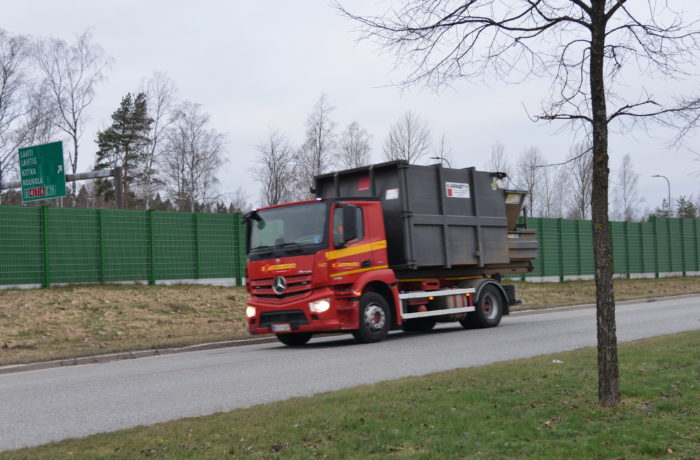 Jätteenkuljetus määrittää nyt jätelakiuudistusta.