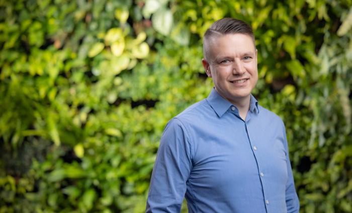 Kalle Saarimaa, kuva: Fortum