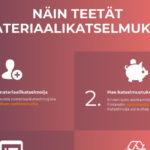 Materiaalikatselmuksia teetetään nyt aktiivisesti osana yritysten vastuullisuustyötä