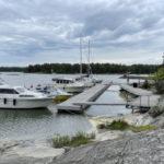 Puuskamuikkunen seilaa Itämerellä