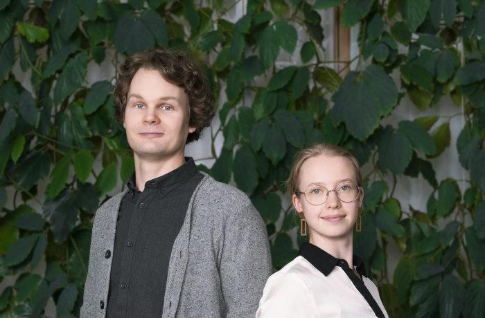 Visa Kivisaari ja Ella Lahtinen