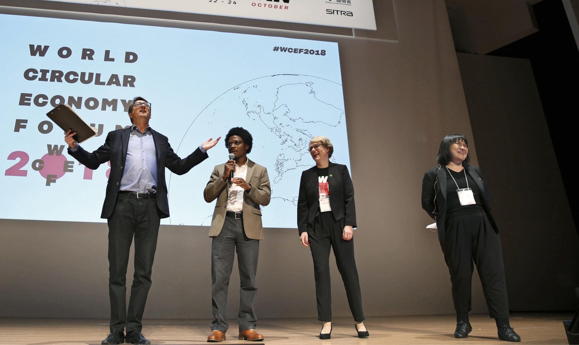 Sadat asiantuntijat ja päättäjät ympäri maailmaa kokoontuivat Sitran World Circular Economy Forumiin pohtimaan, mitä kiertotalous vuoteen 2050 mennessä tarkoittaa.