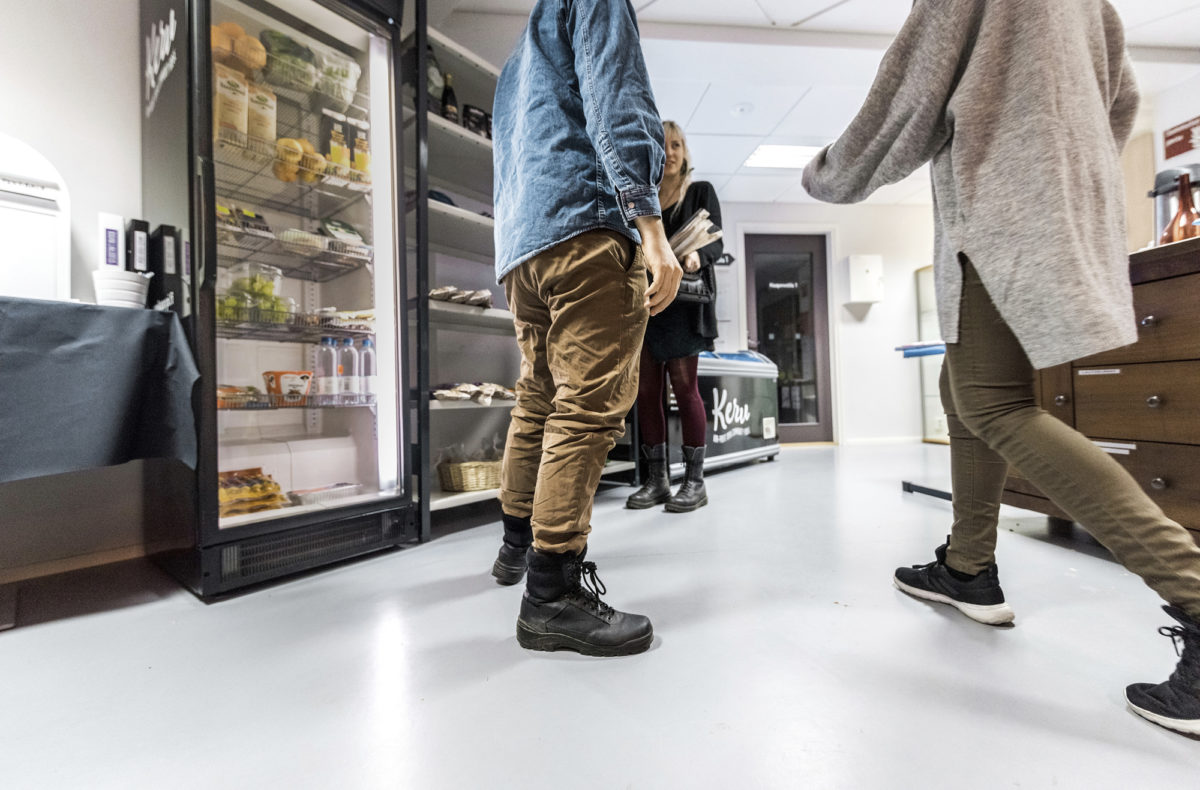 Idea yhteisestä jääkaapista syntyi hävikkiruokakarnevaalin jälkeen.