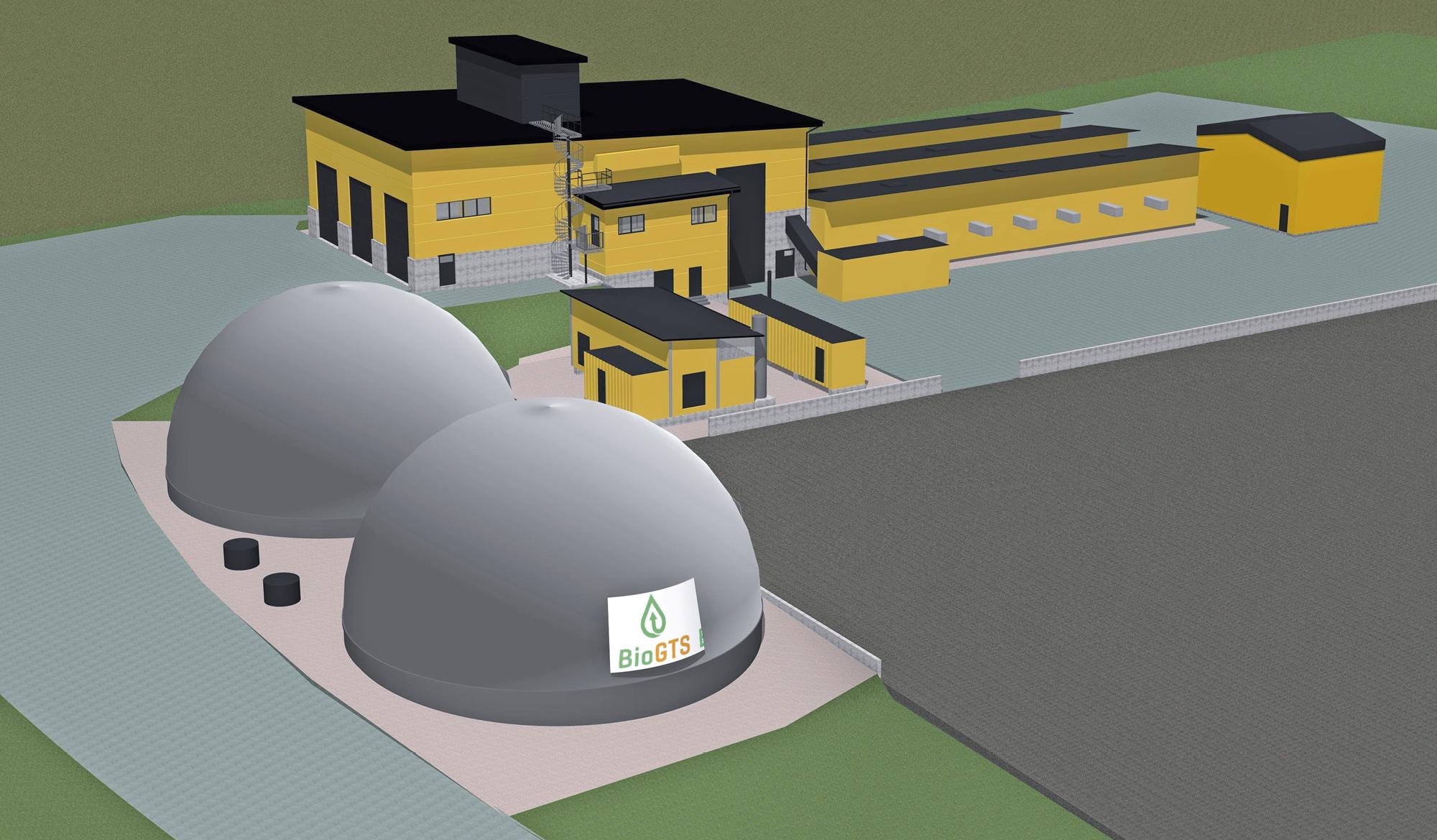 Biojalostamolaitoksen vuosituotto täydellä kapasiteetilla vastaa noin 1 400 kaasuauton vuotuista polttoainetarvetta.