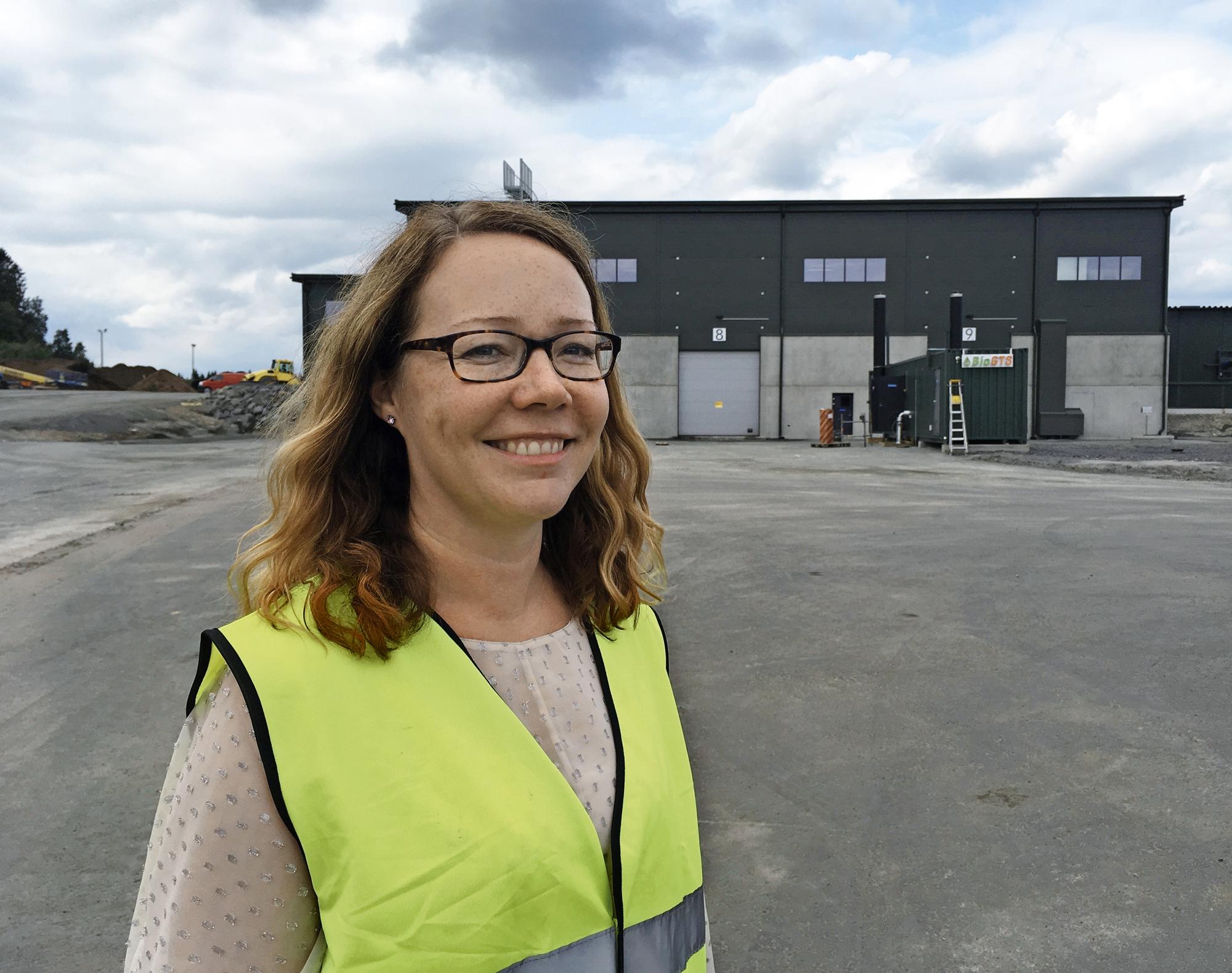 BioGTS:n biokaasulaitos tuottaa nyt biokaasua keskisuomalaisille autoilijoille, iloitsi Annimari Lehtomäk