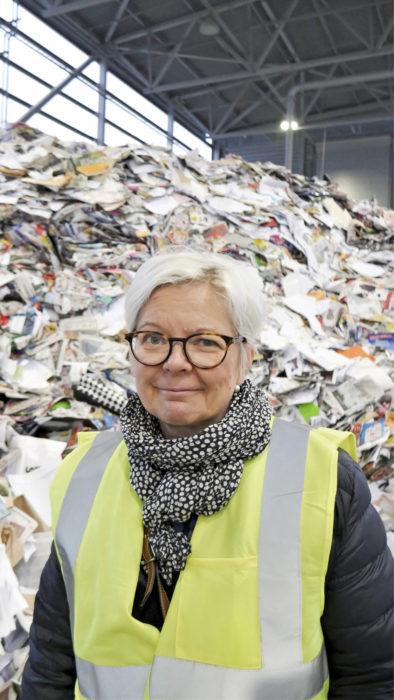 Ylitarjontatilanne kansainvälisillä keräyspaperimarkkinoilla voi jatkua Jaana Jäppisen mukaan vielä vuosia.