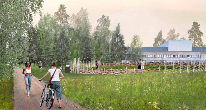Jyväskylän rantareitin varteen Kehä Vihreälle kasvatettiin täksi kesäksi kaupunkilaisille avoin villiyrttipuisto. Puistosta kuka tahansa voi kerätä yrttejä omiin tarpeisiinsa.