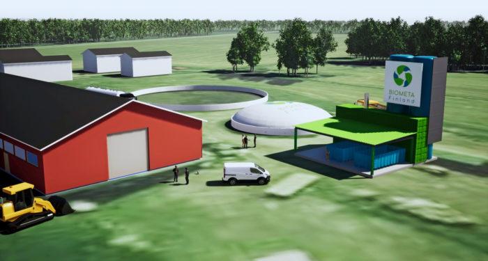 Biometan tavoitteena on seuraavaksi pilotoida biotuotelaitosta teollisessa mittakaavassa.