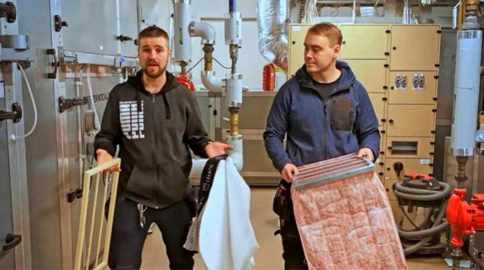 Leanfilin yrittäjät Samu Pöri ja Tommi Lustig esittelivät yrityksen tuotetta FRUSH-tapahtumassa voittoisasti. Pitchauskisan pääpalkinto antaa energiaa kehittää yritystä eteenpäin.